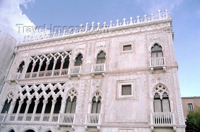 italy93: Italy - Venice / Venezia (Venetia / Veneto) / VCE : Palazzo Ca' D'Oro / Ca' D'Oro Palace (photo by J.Kaman) - (c) Travel-Images.com - Stock Photography agency - Image Bank