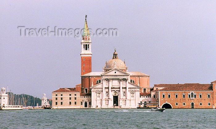 italy98: Italy - Venice / Venezia (Venetia / Veneto) / VCE : isola di San Giorgio Maggiore / S. Giorgio Maggiore island (photo by M.Torres) - (c) Travel-Images.com - Stock Photography agency - Image Bank