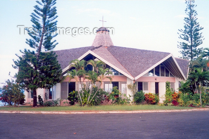 jamaica10: Jamaica - Ocho Rios: Our Lady of Fatima church (photo by Miguel Torres) - (c) Travel-Images.com - Stock Photography agency - Image Bank