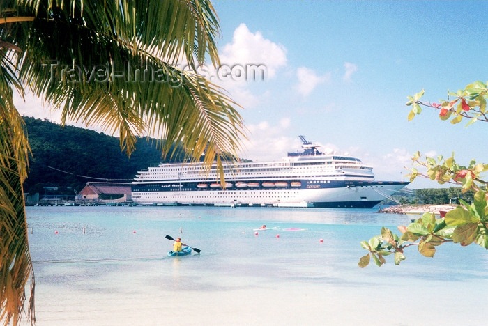 jamaica3: Jamaica - Ocho Rios: Cruise Harbour - Century (photo by Miguel Torres) - (c) Travel-Images.com - Stock Photography agency - Image Bank