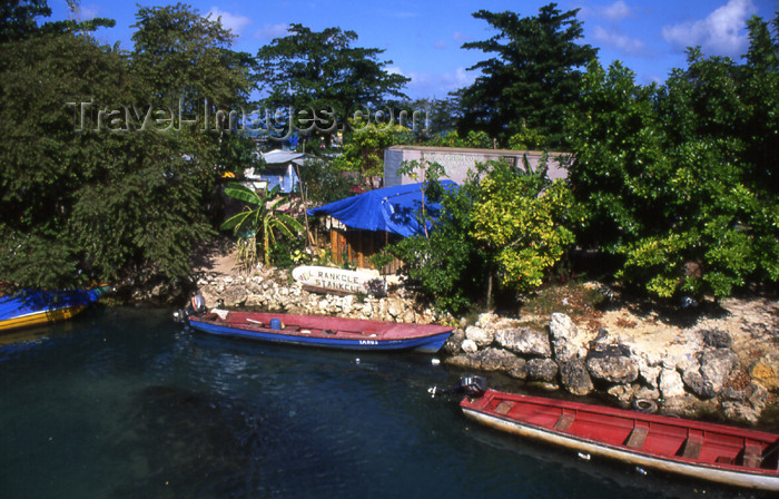 jamaica41: Jamaica - Negril: South Negril river - photo by T.Brown - (c) Travel-Images.com - Stock Photography agency - Image Bank
