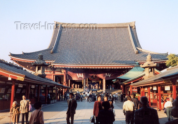 japan29: Japan - Tokyo: Sensoji Buddhist temple - Asakusa, Taito - photo by M.Torres - (c) Travel-Images.com - Stock Photography agency - Image Bank