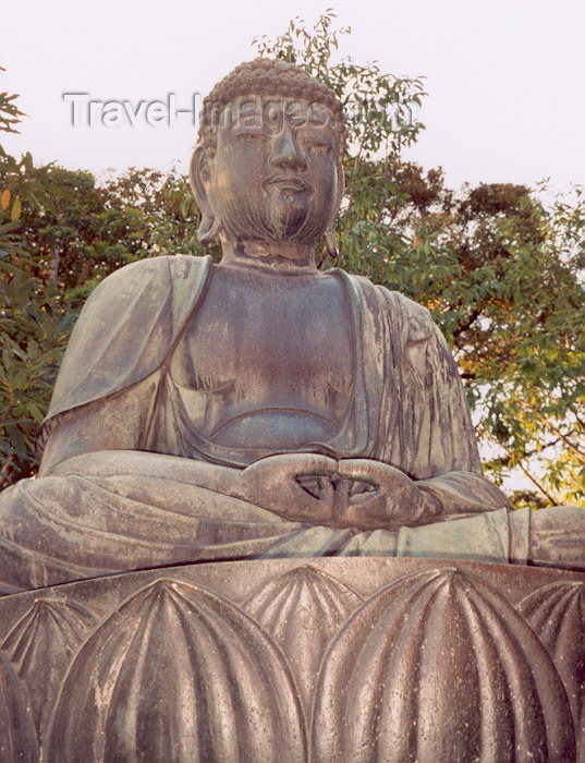japan40: Japan - Tokyo: Buddha meditates - photo by M.Torres - (c) Travel-Images.com - Stock Photography agency - Image Bank