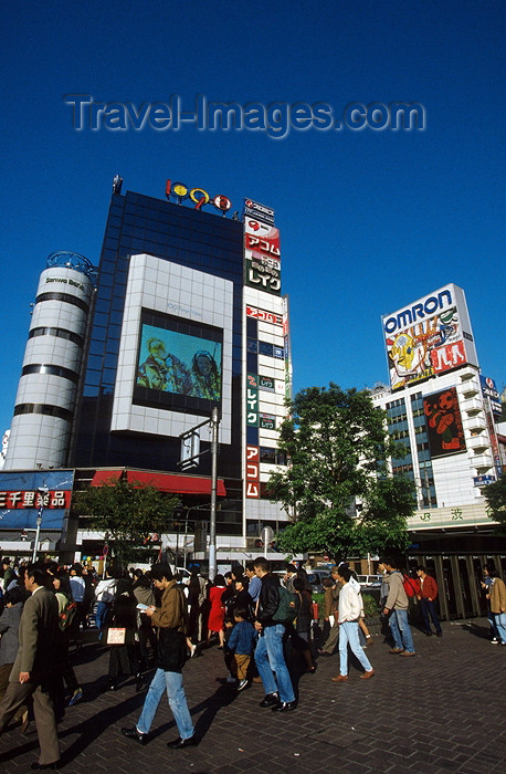 japan48: Japan / Japão - Tokyo / Toquio: Shinjuku district - street scene - photo by Y.Guichaoua - (c) Travel-Images.com - Stock Photography agency - Image Bank