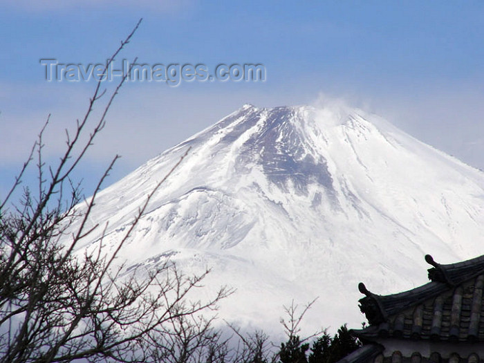 japan49: Japan (Honshu island) Mount Fuji from Lake Ashi - photo by G.Frysinger - (c) Travel-Images.com - Stock Photography agency - Image Bank
