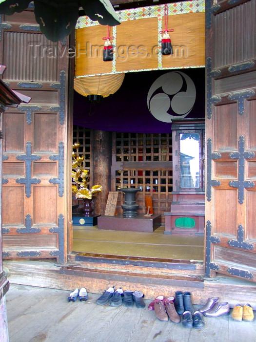 japan65: Japan (Honshu island) - Nara: Kasuga Taisha - Shinto Shrine - shoes of the worshipers - Unesco world heritage site  - photo by G.Frysinger - (c) Travel-Images.com - Stock Photography agency - Image Bank