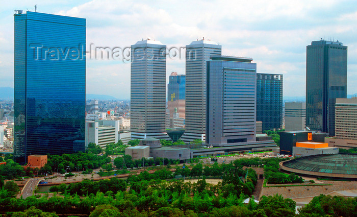 japan78: Osaka financial district, Osaka, Japan. photo by B.Henry - (c) Travel-Images.com - Stock Photography agency - Image Bank