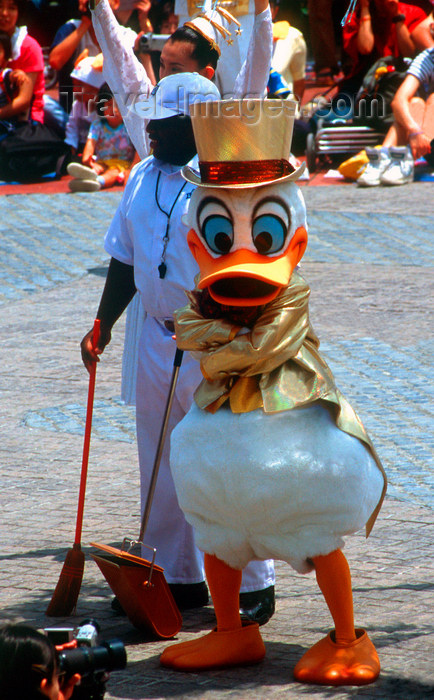 japan93: Disneyland - Uncle Scrooge McDuck, Tokyo, Japan. photo by B.Henry - (c) Travel-Images.com - Stock Photography agency - Image Bank