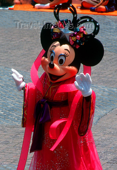 Disneyland - minnie mouse, tokyo, japan. photo by b.henry - (c) travel