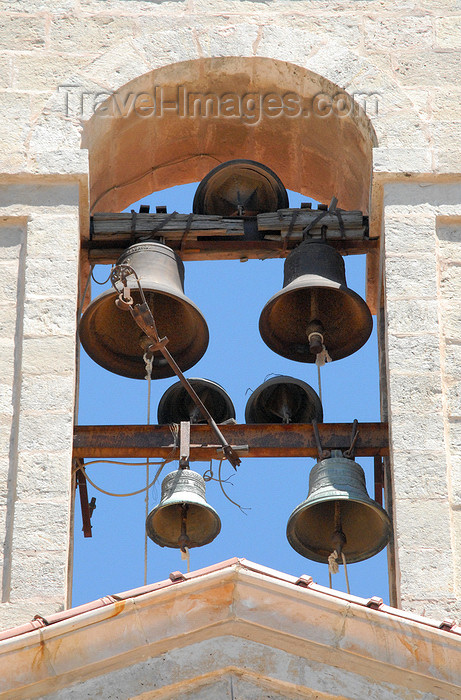 jordan102: Madaba - Jordan: belfry - Greek Orthodox Church of St. George - photo by M.Torres - (c) Travel-Images.com - Stock Photography agency - Image Bank