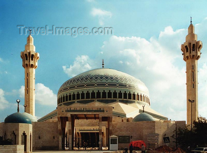 jordan12: Jordan - Amman: Abdallah I mosque - photo by J.Kaman - (c) Travel-Images.com - Stock Photography agency - Image Bank