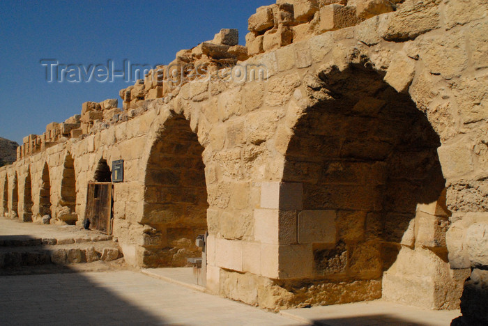jordan134: Al Karak - Jordan: Crac des Moabites castle - vaults on the western ramparts - photo by M.Torres - (c) Travel-Images.com - Stock Photography agency - Image Bank