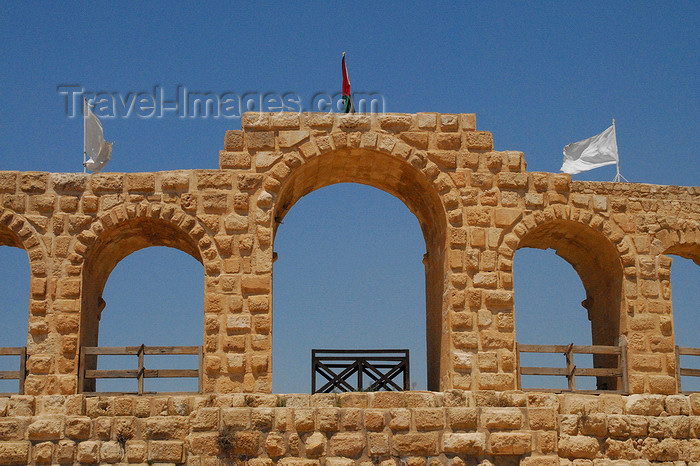 jordan152: Jerash - Jordan: arches of the Hippodrome - Roman city of Gerasa - photo by M.Torres - (c) Travel-Images.com - Stock Photography agency - Image Bank