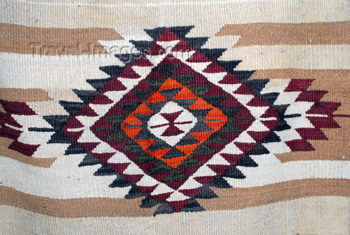 jordan194: Amman - Jordan: - Roman Theatre - bedouin textile at the Museum of Popular Traditions - photo by M.Torres - (c) Travel-Images.com - Stock Photography agency - Image Bank