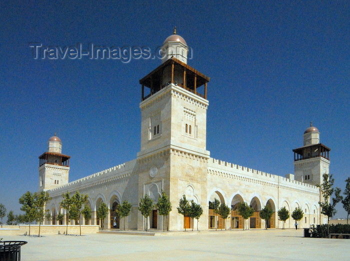 jordan219: Amman - Jordan: King Hussein's Mosque - photo by M.Torres - (c) Travel-Images.com - Stock Photography agency - Image Bank