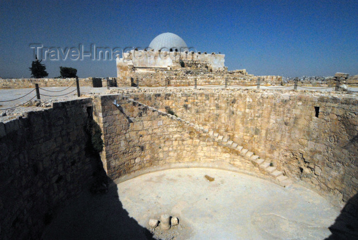 jordan224: Amman - Jordan: the cistern - citadel - photo by M.Torres - (c) Travel-Images.com - Stock Photography agency - Image Bank