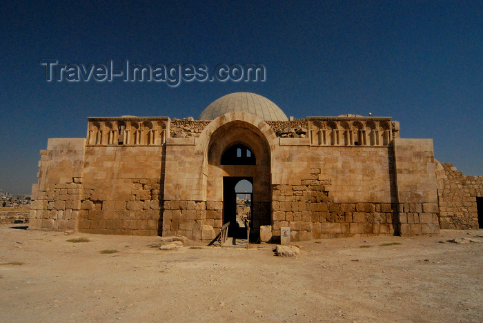 jordan225: Amman - Jordan: Umayyad palace facade - citadel - photo by M.Torres - (c) Travel-Images.com - Stock Photography agency - Image Bank