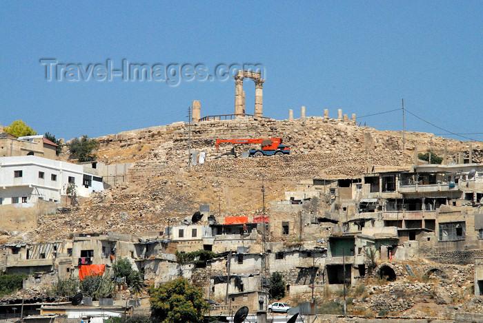jordan242: Amman - Jordan: the citadel and Jabal al-Qal'a hill - citadel - photo by M.Torres - (c) Travel-Images.com - Stock Photography agency - Image Bank