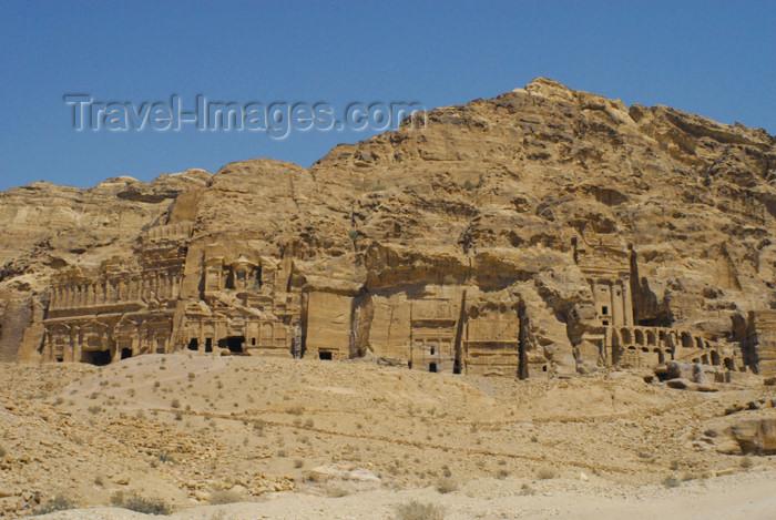 jordan268: Jordan - Petra:  East Ridge Tombs - photo by M.Torres - (c) Travel-Images.com - Stock Photography agency - Image Bank