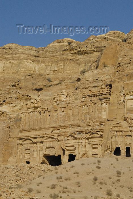 jordan269: Jordan - Petra: Palace Tomb - East Ridge Tombs - photo by M.Torres - (c) Travel-Images.com - Stock Photography agency - Image Bank