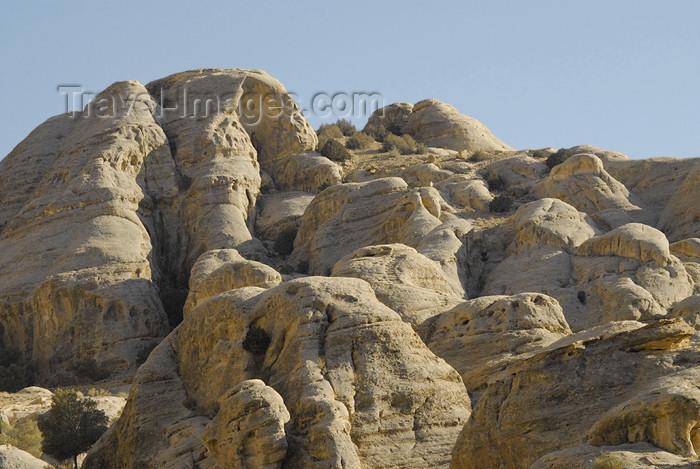 jordan293: Jordan - Petra:  Bab-as-Siq - erosion - photo by M.Torres - (c) Travel-Images.com - Stock Photography agency - Image Bank