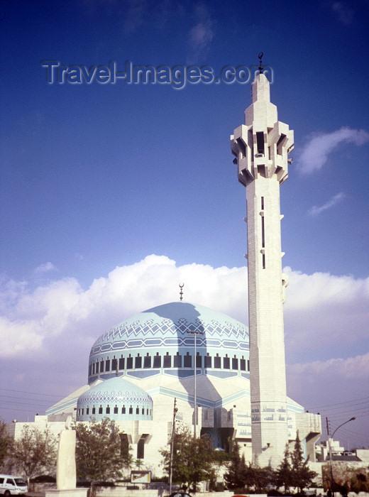 jordan52: Jordan - Amman: Abdallah I mosque - minaret - photo by J.Kaman - (c) Travel-Images.com - Stock Photography agency - Image Bank