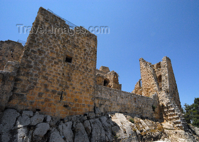 jordan78: Ajlun - Jordan: Ajlun castle - born from the rock - photo by M.Torres - (c) Travel-Images.com - Stock Photography agency - Image Bank