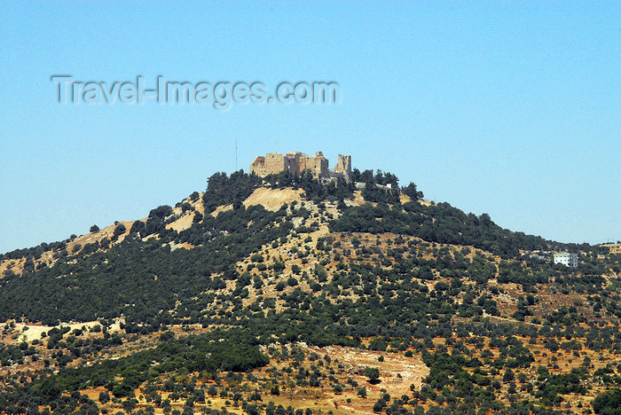 jordan83: Ajlun - Jordan: Ajlun castle - sitting on a knoll - photo by M.Torres - (c) Travel-Images.com - Stock Photography agency - Image Bank
