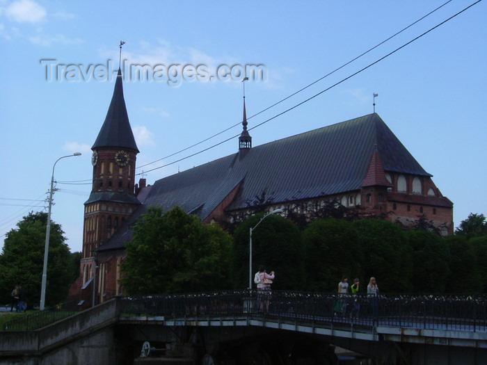 kaliningrad10: Kaliningrad / Königsberg, Russia: Kant's Cathedral - Königsberg Cathedral and bridge to Kneiphof island / Königsberger Dom - photo by P.Alanko - (c) Travel-Images.com - Stock Photography agency - Image Bank