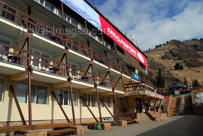 kazakhstan127: Kazakhstan - Chimbulak ski-resort, Almaty: the Chimbulak Hotel - photo by M.Torres - (c) Travel-Images.com - Stock Photography agency - Image Bank