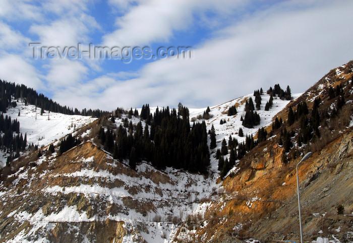 kazakhstan139: Kazakhstan - Chimbulak / Shimbulak ski-resort, Almaty: along the valley - photo by M.Torres - (c) Travel-Images.com - Stock Photography agency - Image Bank