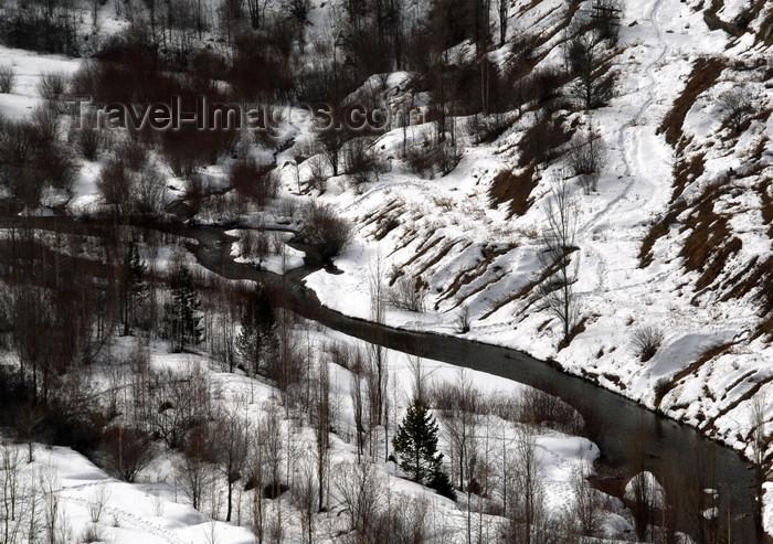 kazakhstan140: Kazakhstan - Chimbulak ski-resort, Almaty: Small Almaty river - photo by M.Torres - (c) Travel-Images.com - Stock Photography agency - Image Bank