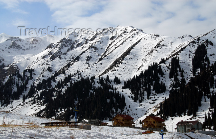kazakhstan141: Kazakhstan - Chimbulak ski-resort, Almaty: Alatau Mountains, part of the Tian Shan mountain range - photo by M.Torres - (c) Travel-Images.com - Stock Photography agency - Image Bank