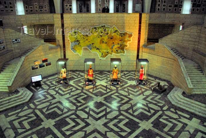 kazakhstan212: Kazakhstan, Almaty: Central State Museum of Kazakhstan - main hall - photo by M.Torres - (c) Travel-Images.com - Stock Photography agency - Image Bank