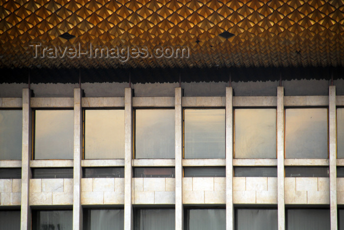 kazakhstan225: Kazakhstan, Almaty: Republic Palace - Concert hall - Abai Square - Soviet Architecture - photo by M.Torres - (c) Travel-Images.com - Stock Photography agency - Image Bank