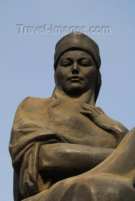 kazakhstan273: Kazakhstan, Almaty: Republic square - woman statue - photo by M.Torres - (c) Travel-Images.com - Stock Photography agency - Image Bank
