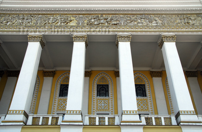 kazakhstan303: Kazakhstan, Almaty: Almaty Opera and Ballet Theater - balcony - photo by M.Torres - (c) Travel-Images.com - Stock Photography agency - Image Bank