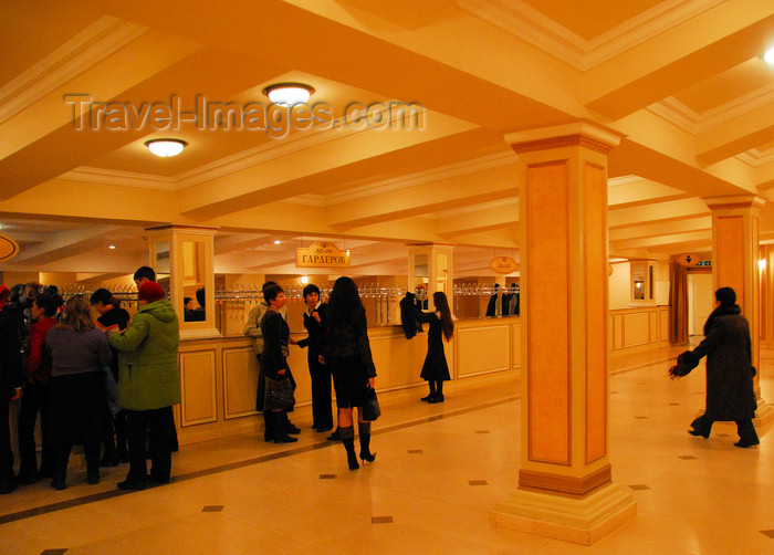 kazakhstan307: Kazakhstan, Almaty: Almaty Opera and Ballet Theater - cloakroom - photo by M.Torres - (c) Travel-Images.com - Stock Photography agency - Image Bank