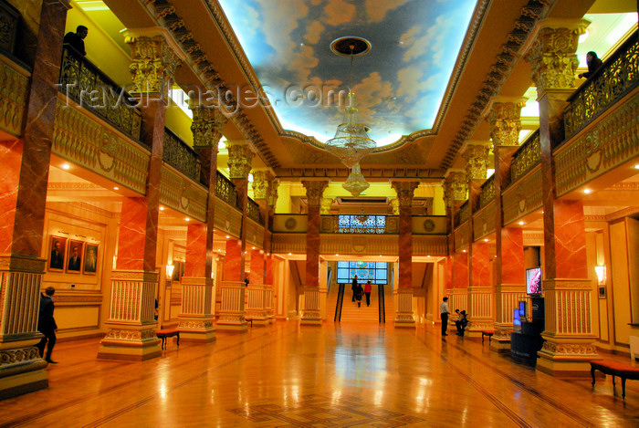 kazakhstan309: Kazakhstan, Almaty: Almaty Opera and Ballet Theater - foyer - photo by M.Torres - (c) Travel-Images.com - Stock Photography agency - Image Bank