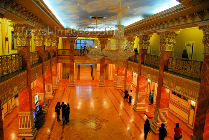 kazakhstan311: Kazakhstan, Almaty: Almaty Opera and Ballet Theater - foyer from above - photo by M.Torres - (c) Travel-Images.com - Stock Photography agency - Image Bank