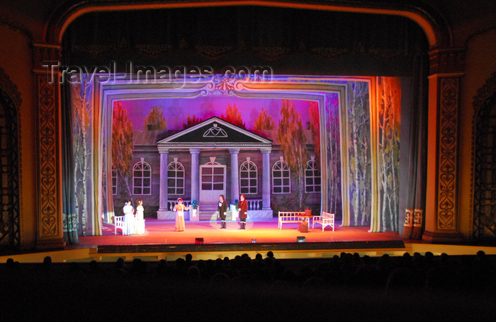 kazakhstan312: Kazakhstan, Almaty: Almaty Opera and Ballet Theater - Eugene Onegin, opera by Tchaikovsky - photo by M.Torres - (c) Travel-Images.com - Stock Photography agency - Image Bank