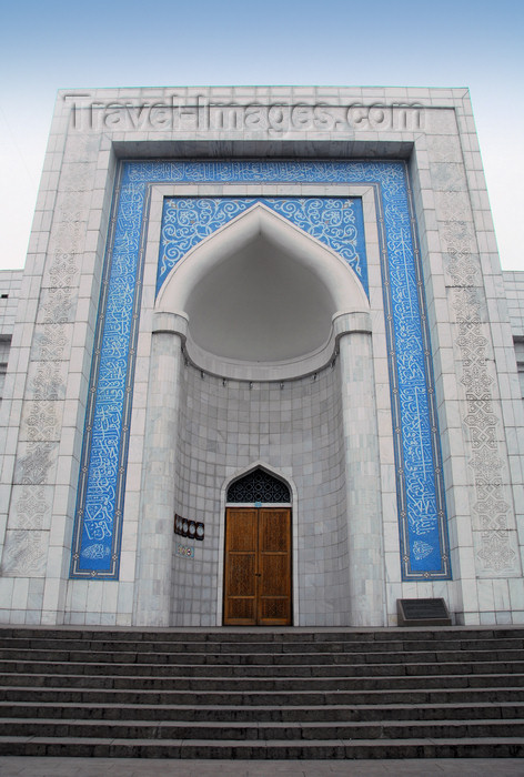 kazakhstan334: Kazakhstan, Almaty:  Central Mosque - located at the intersection of Pushkin and Mametova streets - photo by M.Torres - (c) Travel-Images.com - Stock Photography agency - Image Bank