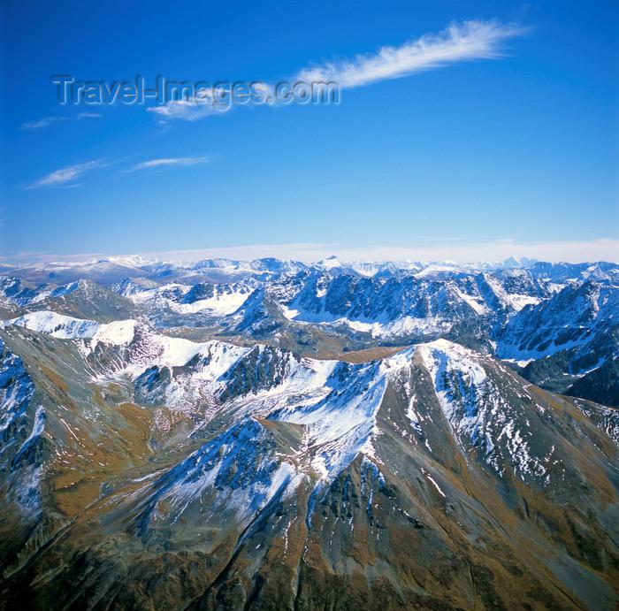 kazakhstan341: East Kazakhstan oblys - Altay Mountains: birdseye view - photo by V.Sidoropolev - (c) Travel-Images.com - Stock Photography agency - Image Bank