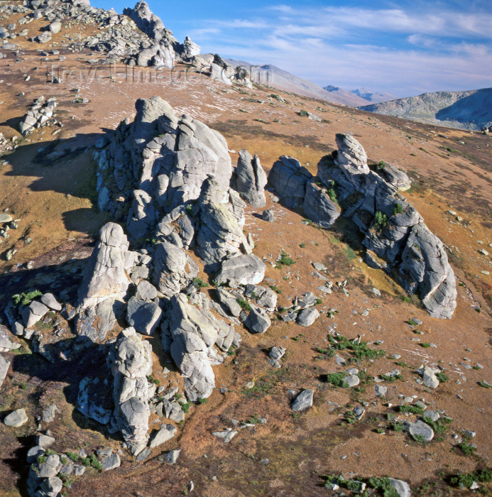 kazakhstan38: Kazakhstan - Altay Mountains: rocky landscape - photo by V.Sidoropolev - (c) Travel-Images.com - Stock Photography agency - Image Bank