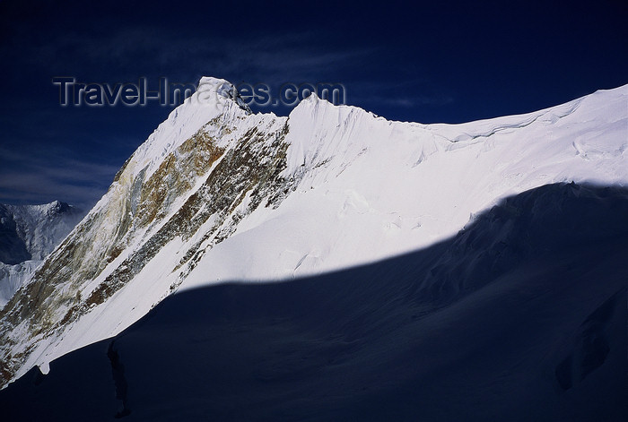 kazakhstan55: Kazakhstan - Tian Shan mountain range: light and shade in the mountains - photo by E.Petitalot - (c) Travel-Images.com - Stock Photography agency - Image Bank