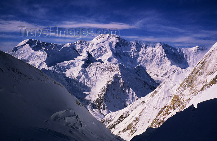 kazakhstan58: Kazakhstan - Tian Shan mountain range: skyline - south east Kazakhstan - photo by E.Petitalot - (c) Travel-Images.com - Stock Photography agency - Image Bank