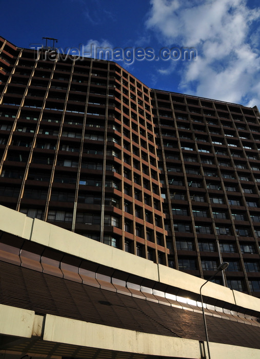 kenya100: Nairobi, Kenya:  ICEA Building - architects Hughes and Polkinghorn - photo by M.Torres - (c) Travel-Images.com - Stock Photography agency - Image Bank