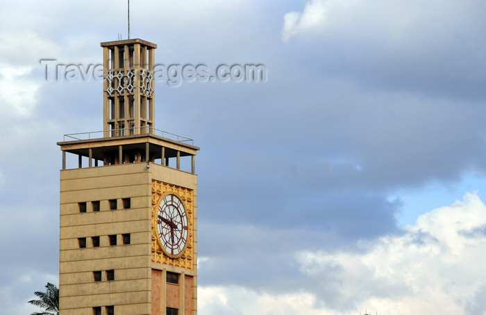 kenya109: Nairobi, Kenya: Parliament House clock tower - architect Amyas Douglas Connell - photo by M.Torres - (c) Travel-Images.com - Stock Photography agency - Image Bank