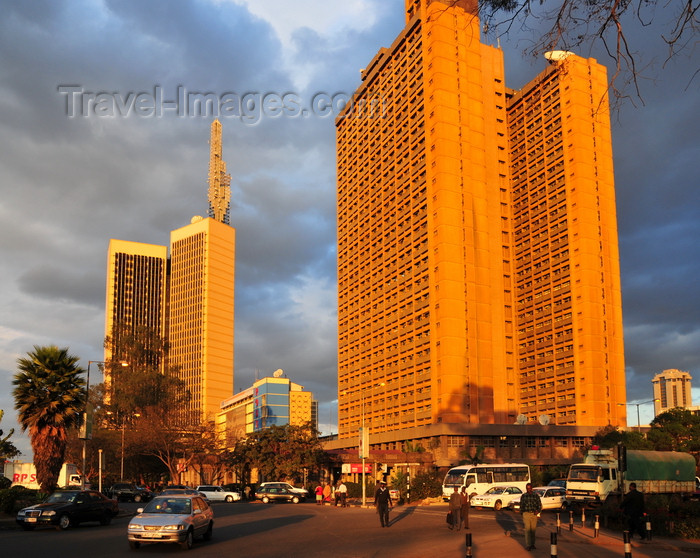 kenya114: Nairobi, Kenya: Nyayo House - named after Moi's philosophy of peace, love and unity - headquarters of Nairobi province, infamous for its torture chambers - Kenyatta Avenue - photo by M.Torres - (c) Travel-Images.com - Stock Photography agency - Image Bank