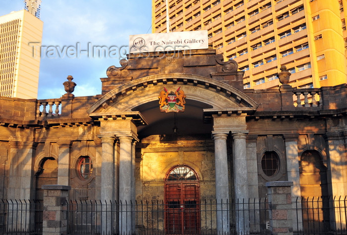 kenya115: Nairobi, Kenya: Nairobi Gallery - Old Pc Building - photo by M.Torres - (c) Travel-Images.com - Stock Photography agency - Image Bank